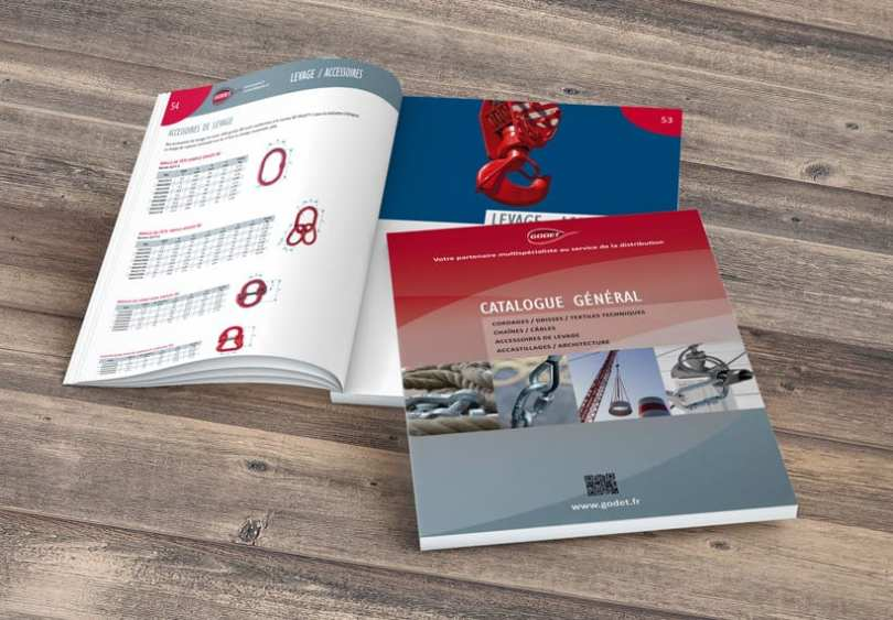 communication print : catalogue général godet