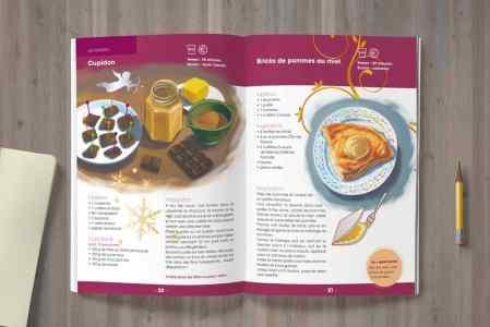 Livret de recettes illustrées