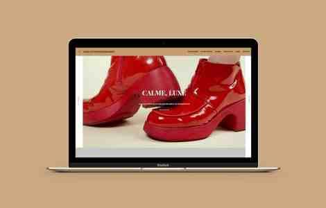 Site web très mode
