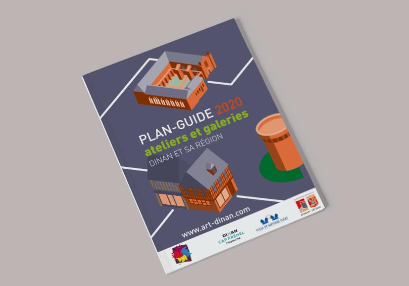 plan-guide Art'Dinan