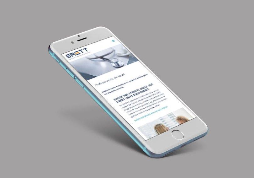 iPhone site Srett