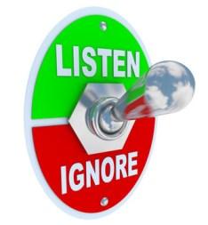 Become A Persuasive Speaker / Ignore-Listen Switch