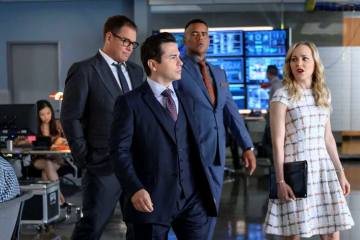 "Characters in the Season 4 premiere of the CBS drama ""Bull"""