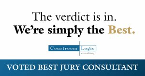 The verdict is in. We're simply the Best. Voted Best Jury Consultant.