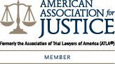Logo for American Association for Justice