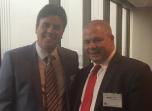 """Richard Klass, Esq. (L) with David Sarnoff, Esq. at June 2015 CLE """"The Do's and Don'ts of Finding and Hiring an Associate"""" at the New York State Bar Association."""