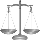 Scales of justice illustrating article about real property.