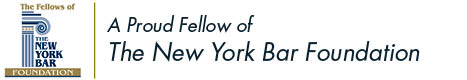 Logo for Fellows of the New York Bar Association Foundation