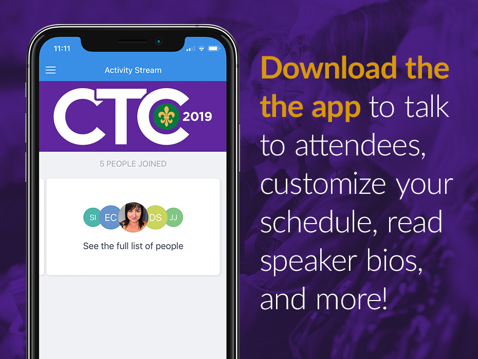 Get the Most out of CTC 2019 with our App