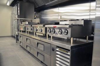 Industrial Training Kitchen