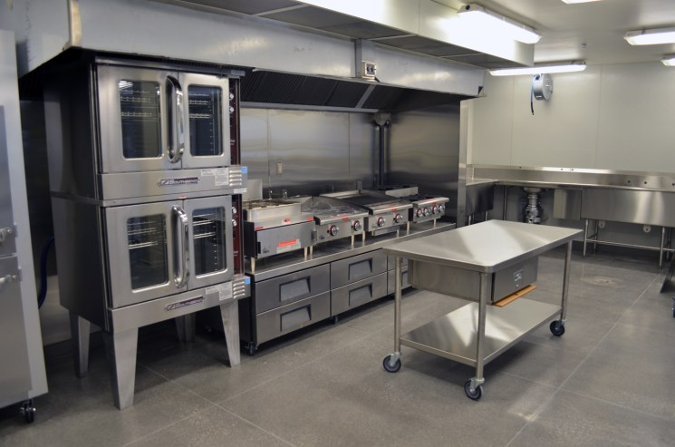 Industrial Training Kitchen