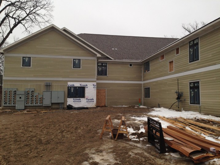 Electrical Meters and Exterior Siding 12-20-13