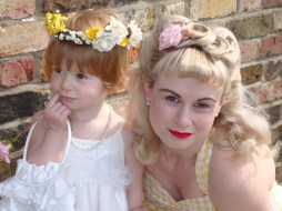 Penny and mummy