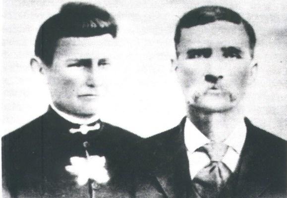 Lucinda (Hampton) & Robert Russell Bell