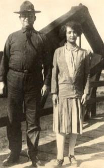 Uncle Al and wife (via Joel Landes)