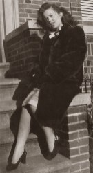 Vivian Klein Berman, 1946 via Shari Berman Landes