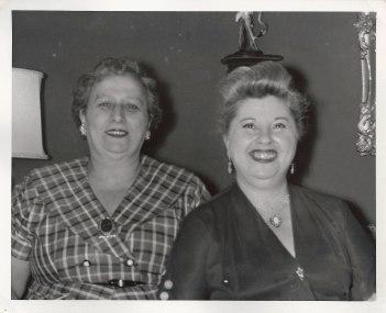 Anna Neckameyer Berman, Lillian Herman Klein (via Shari Berman Landes)