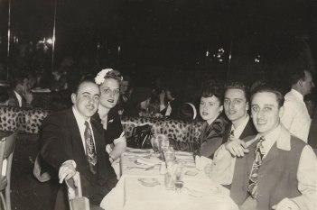 """Larry Abrams, Rita Berman Abrams, Vivian Klein Berman, Seymour Berman, Aaron """"Al"""" Berman (via Shari Berman Landes)"""