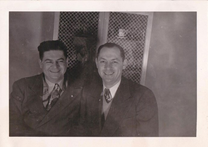 Herbert Landes and Morty Landes via Paul Landes