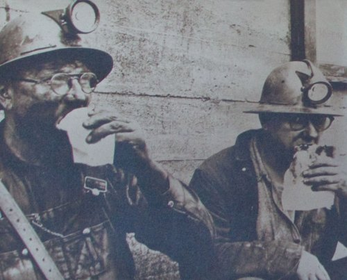 Coal Miners Eating Pasties