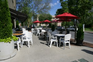 Outdoor Sidewalk Cafe