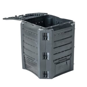 Urban Compgreen Composter 100 gal lid open