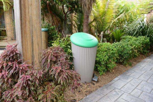 pet poop composter inground
