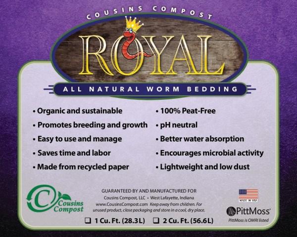 royal worm bedding