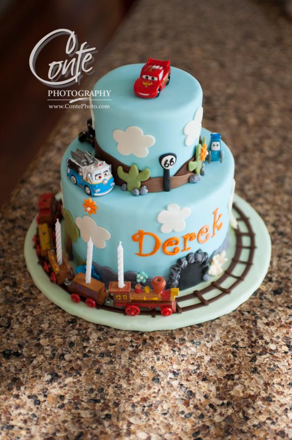 Happy Birthday Cake Candles