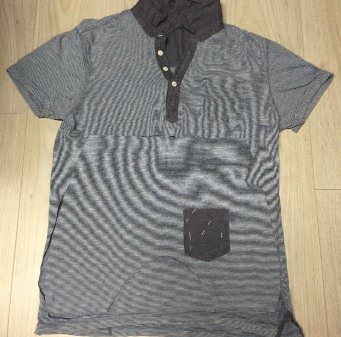 Transformer un t-shirt Homme en sarouel bébé
