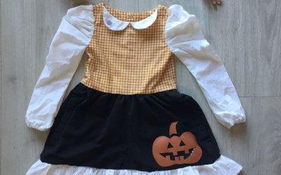 Une robe dans un jogging pour Halloween