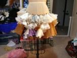 Tiger Lily Skirt under construction