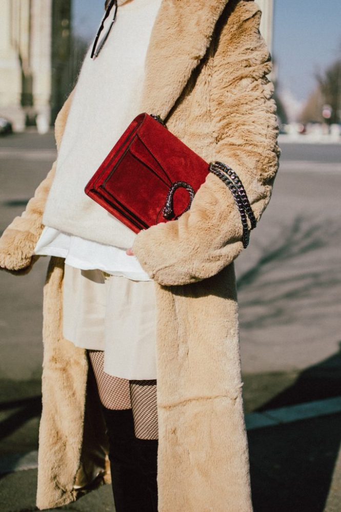 Boohoo beige long line teddy coat, teddy bear coat in cream, brown teddy bear coat, off white, h&m mohair blends balloon sleeves sweater in beige, zara linen khaki shorts, mango white oversized tee, asos sold out small cat eye sunglasses, 90s sunglasses, retro sunglasses, gucci red suede dionysus shoulder bag bag, black otk boots, andreea birsan, couturezilla, cute winter outfit ideas 2018, how to wear fishnet tights without looking vulgar, baker boy hat trend, news boy hat, baker boy cap in black, the popular hat all over instagram, the hat all bloggers are wearing, where to find the best winter coats, how to pull off a monocromatic look, how to wear beige from head to toe, beige black and red outfit, how to wear fishnet tights like a pro, stockings, black suede low heel over the knee boots, otk boots, over knee boots in black, how to wear over the knee boots with shorts, how to wear a pair of shorts in winter, winter layers, how to stay warm in winter with summer clothes, silver hoop earrings, waves, curls, red lipstick, arc de triomphe, how to look Parisian chic, European summer street style inspiration for women 2017, pinterest chic outfit ideas for woman, summer outfit ideas, summer ootd inspiration, outfit of the day, ootd, fashion icon, style inspiration, fashionista, fashion inspiration, style inspo, what to wear in summer, how to look French, chic on a budget, zara outfit, mango, topshop, asos, river island, forever 21, urban outfitters, how to mix high end pieces with luxury ones, zara and Gucci,outfit alternatives for summer, tomboy chic, minimal outfit, tumblr girls photos, pictures, happy girl, women, smart casual outfits, the best outfit ideas 2017, what to wear when you don't feel inspired, summer in Europe, weekend attire, uniform, French women in summer, European outfit ideas 2017, minimal chic outfit, how to stand out, the best outfit ideas for summer, the sunglasses you have seen everywhere on Instagram, glasses, uk fashion blogger, united kingdom, uk fashion blog, fashion and travel blog, Europe, women with style, street style, summer fashion trends 2017, best fashion ideas, styling, fall fashion, fall outfit, fall ootd, fall perfect, transitional dressing, best transitional outfit ideas, how to wear statement earrings, dressing for autumn, autumn outfit, winter outfit ideas for work and school 2017