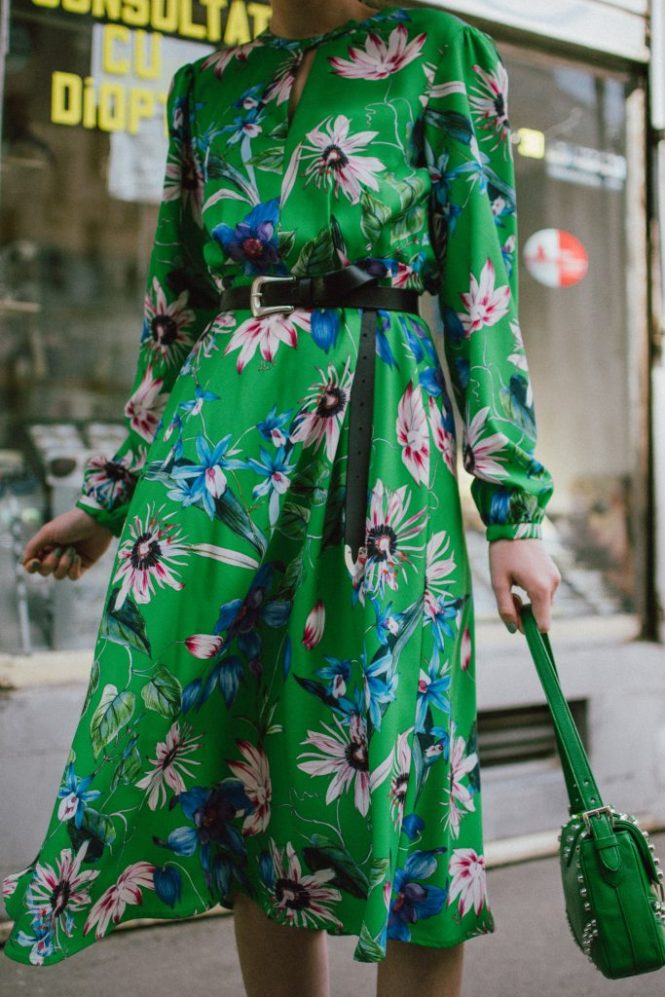 Green midi floral dress, gucci ace heart embroidered sneakers, prada green leather shoulder bag, mango big straw hat, andreea birsan, couturezilla, cute spring outfit ideas 2018, h&m midi floral dress, budget friendly dress for spring and summer, how to wear green, what to wear with a floral dress, dress and sneakers, asos micro cat eye sunglasses, small cat eye sunglasses, matrix inspired sunglasses, the micro sunglasses trend, statement earrings, how to wear the small sunglasses trend, 90s inspired sunglasses, black cat eye sunglasses, how to wear floral prints, flower print dress, green dress, how to wear midi dresses, what shoes work with midi dresses, straw hat, large brim straw hat, leather belt, gucci white sneakers, white leather sneakers, gucci white sneakers with hearts, gucci ace, prada saffiano leather shoulder bag, green prada shoulder bag with studs and stones, green bag and green dresss, how to look Parisian chic, European summer street style inspiration for women 2017, pinterest chic outfit ideas for woman, summer outfit ideas, summer ootd inspiration, outfit of the day, ootd, fashion icon, style inspiration, fashionista, fashion inspiration, style inspo, what to wear in summer, how to look French, chic on a budget, zara outfit, mango, topshop, asos, river island, forever 21, urban outfitters, how to mix high end pieces with luxury ones, zara and Gucci,outfit alternatives for summer, tomboy chic, minimal outfit, tumblr girls photos, pictures, happy girl, women, smart casual outfits, the best outfit ideas 2017, what to wear when you don't feel inspired, summer in Europe, weekend attire, uniform, French women in summer, European outfit ideas 2017, minimal chic outfit, how to stand out, the best outfit ideas for summer, the sunglasses you have seen everywhere on Instagram, glasses, uk fashion blogger, united kingdom, uk fashion blog, fashion and travel blog, Europe, women with style, street style, summer fashion trends 2017, best fashion ideas, styling, fall fashion, fall outfit, fall ootd, fall perfect, transitional dressing, best transitional outfit ideas, how to wear statement earrings, dressing for autumn, autumn outfit, winter outfit ideas for work and school 2017