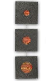 Orangés - Les 3 soleils d'Aotearoa - Taille : 24x83