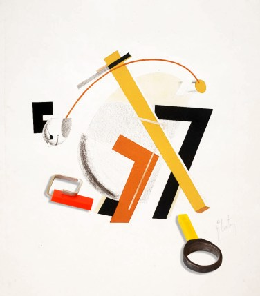 8. Old Man (Head 2 Steps behind) 1923 El Lissitzky 1890-1941 Purchased 1976 http://www.tate.org.uk/art/work/P07145