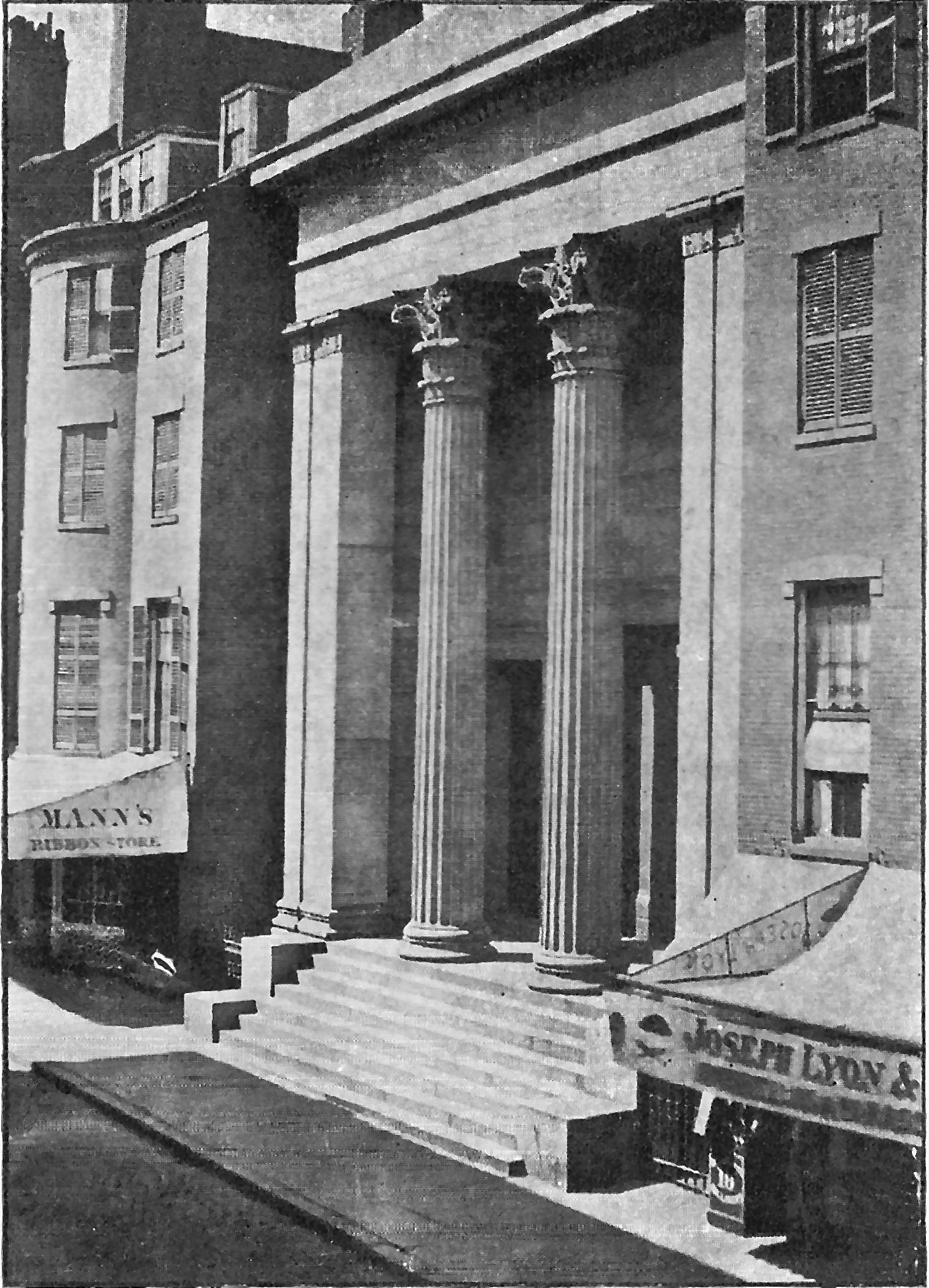 Winter Street 1842