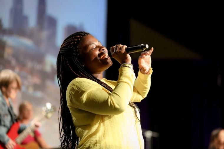 Worship was uplifting.