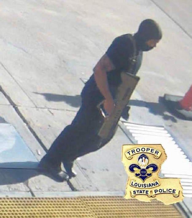 Gavin Long ambushed Baton Rouge police.