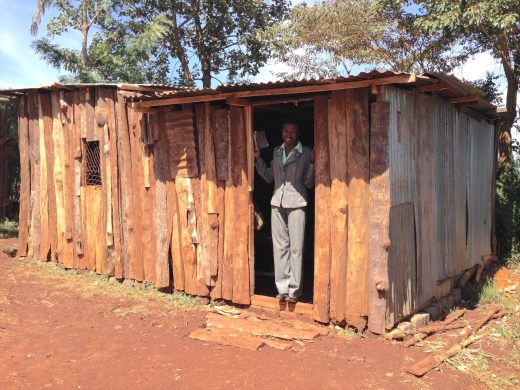 A Kenyan educator could have chosen a well-paying job but chose to teach in this school she had built.