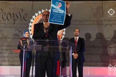 Khan Touts Work of Covenanters' Anti-Hate Effort