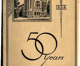 Local Church Anniversary Books in New Digital Collection