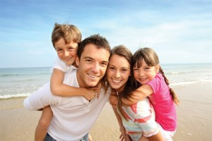 happy family after addiction treatment