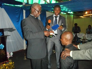 During the ordination service (5)