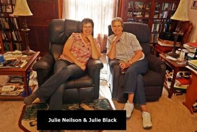 Julie N and Julie B at Nielson's