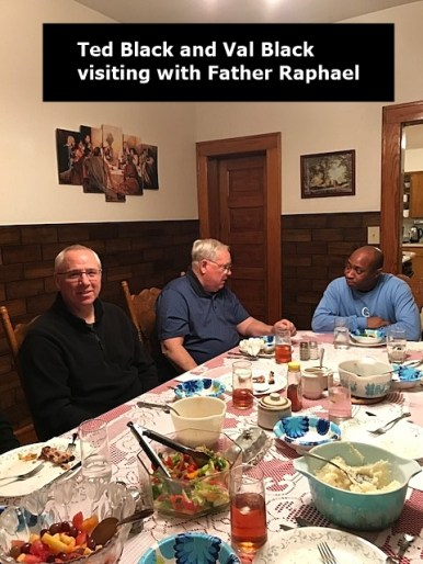 Ted, Val and F. Raphael Oct 27 2017