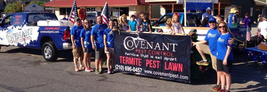 Covenant Pest Inspection Parade