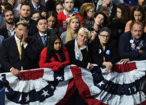 Despondent Hillary Clinton Supporters