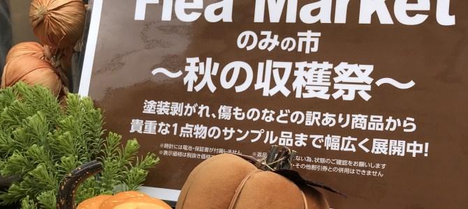 のみの市~秋の収穫祭~ 9/24日まで開催!