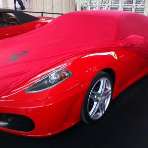 Ferrari F430 satin rouge
